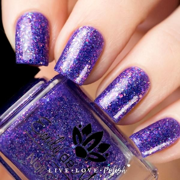 Emily de Molly Sweet Sacrifice Nail Polish | Holographic, Top coat ...