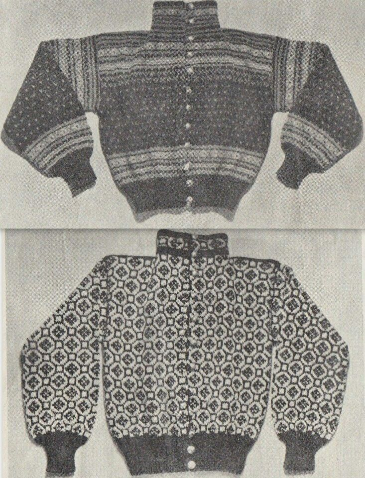 Pin på Old norwegian knitting