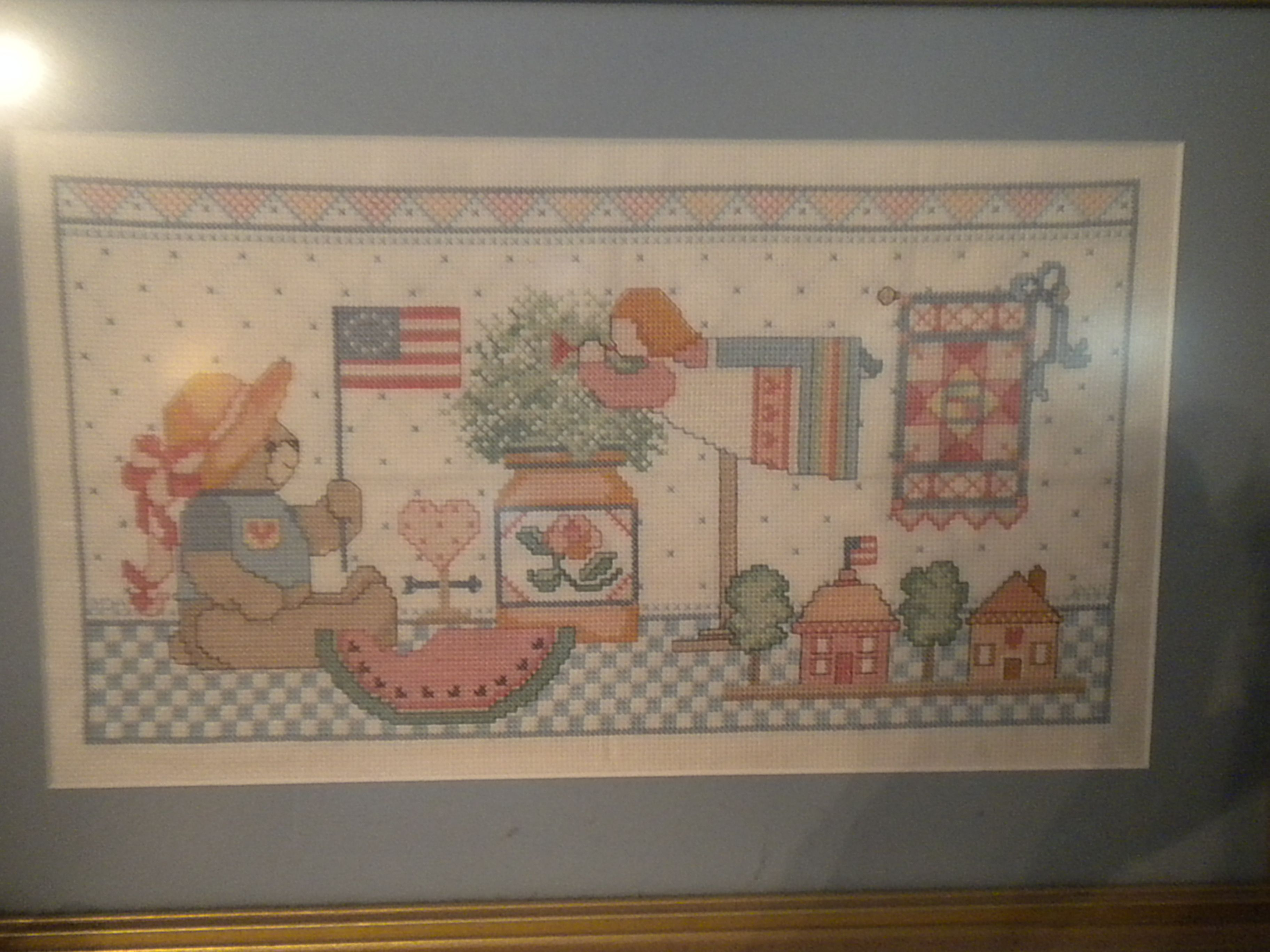 Crosstitch I made, when I was younger...