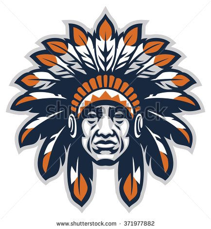 indian head mascot logos logo design mascot design logos rh pinterest com Indian Motorcycle Logo Indian Motorcycle Logo