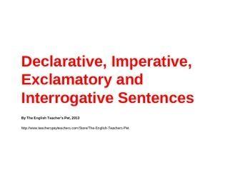 interrogative sentence 10 examples
