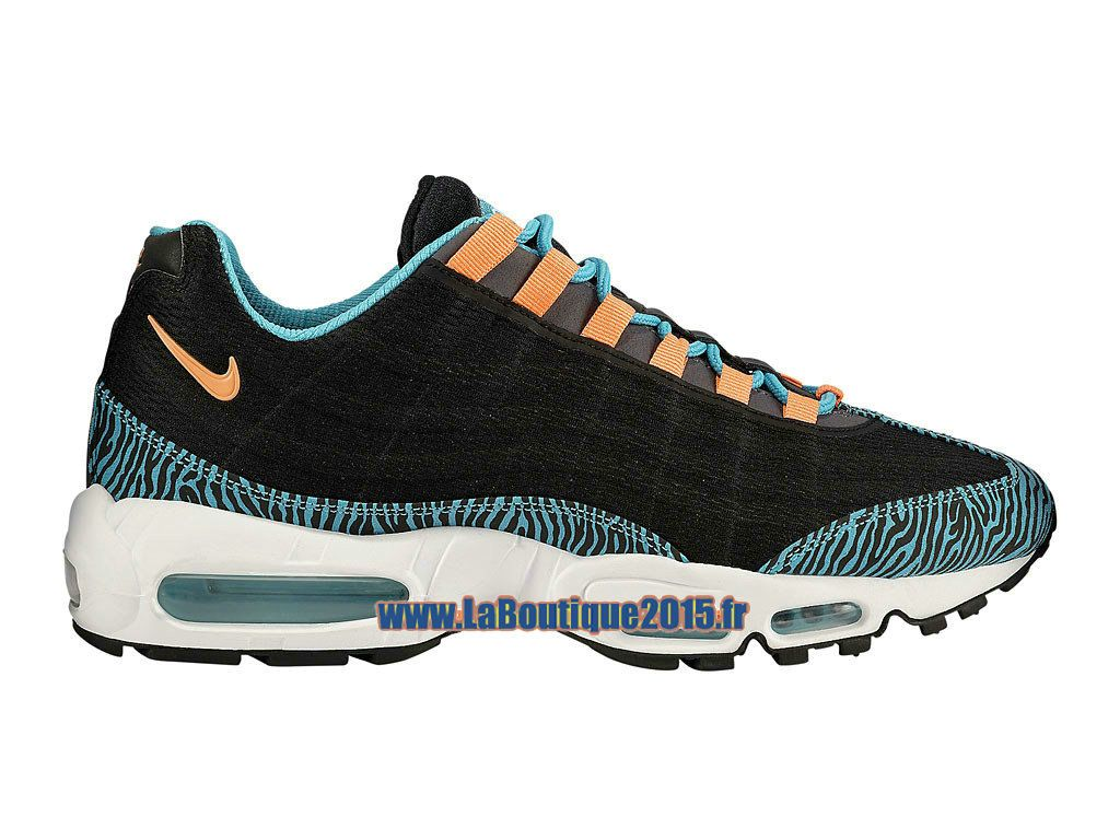 info for 75426 19345 Nike Air Max 95 Premium Tape - Chaussures Nike Pas Cher Pour Homme Noir Rose