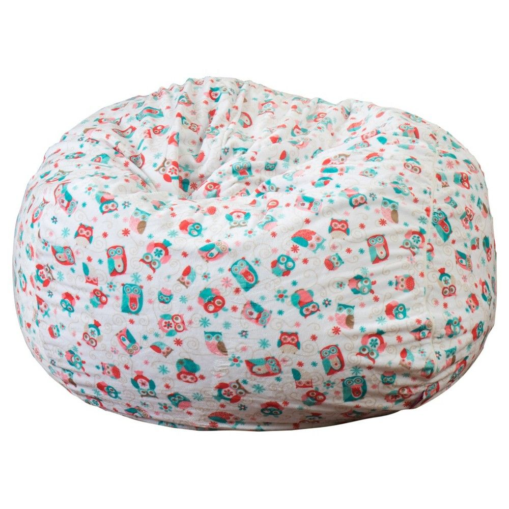 Riley 3 Bean Bag Owl Pattern Christopher Knight Home
