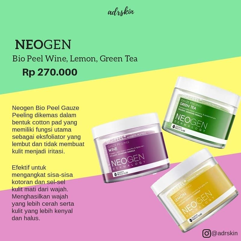 Gauze Peeling Untuk Jerawat Pake Yang Lemon Atau Green Tea