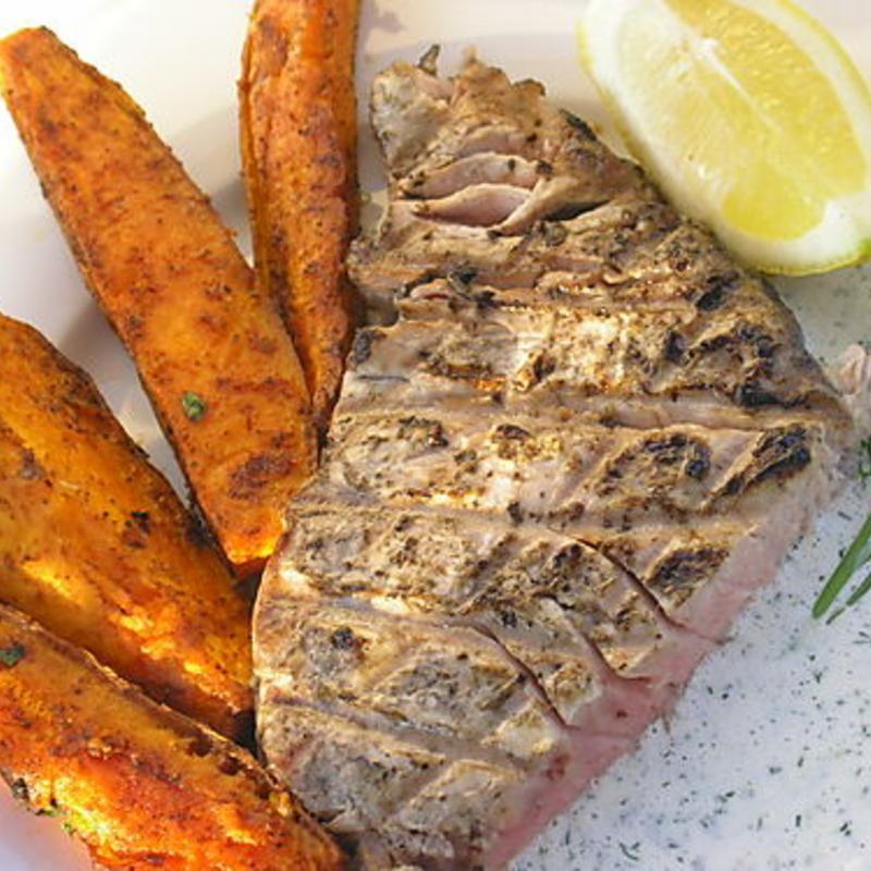 Fresh pacific yellowfin tuna the fish market zmenu