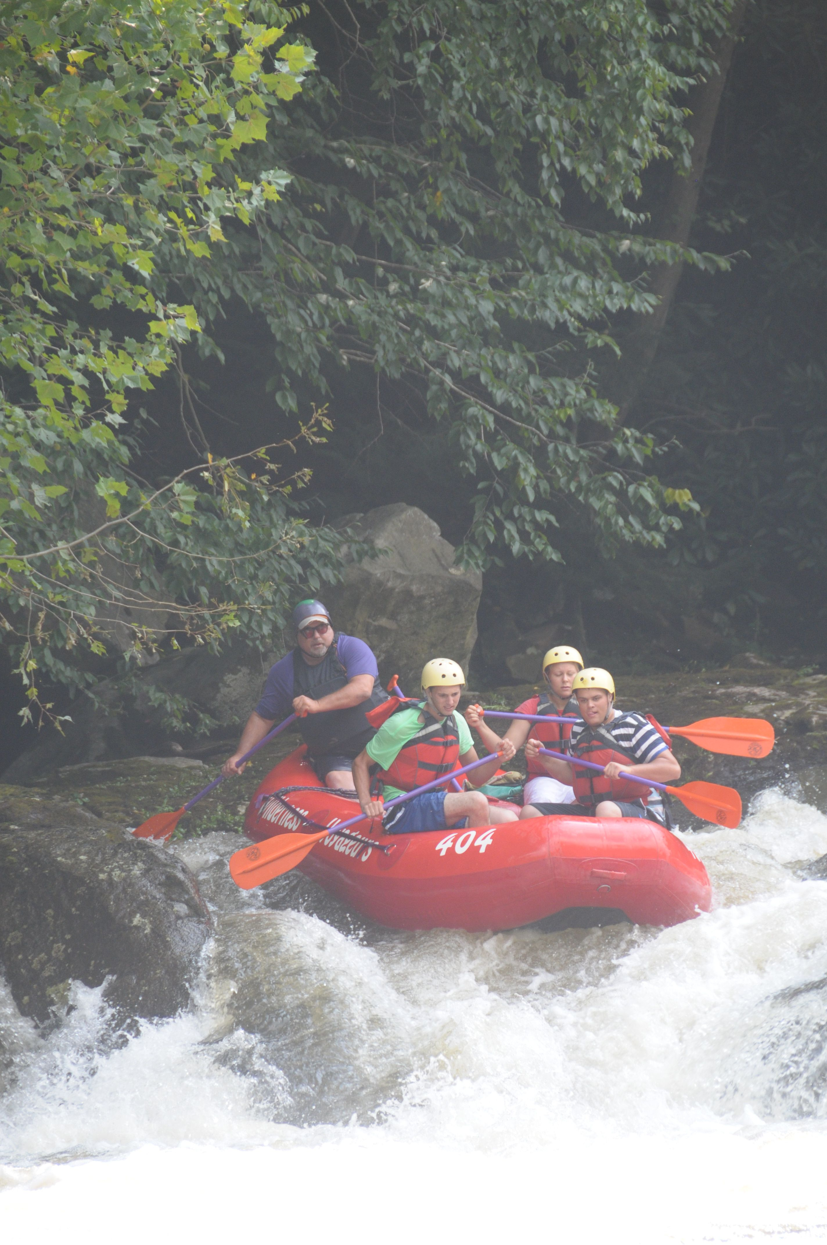 Great Day Of Rafting On The Upper Yough River Legend Phil Coleman Is Bringing His
