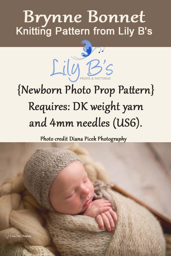 Newborn Knit Pattern Newborn Knitting Pattern Photo Prop Pattern
