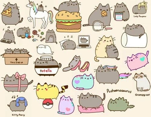 Pusheen Plays Dress Up Sanrio Phone Pusheen Cat Cats Cute Cats
