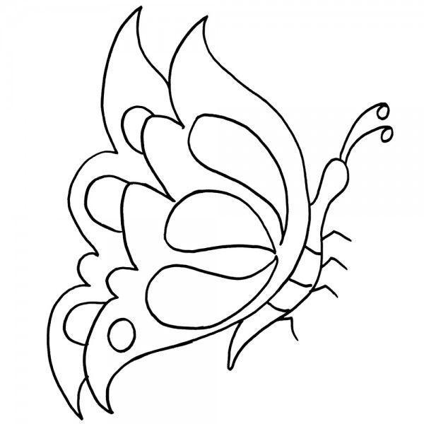 Mariposas Para Pintar En Tela Jpg 600 215 600 Mariposa