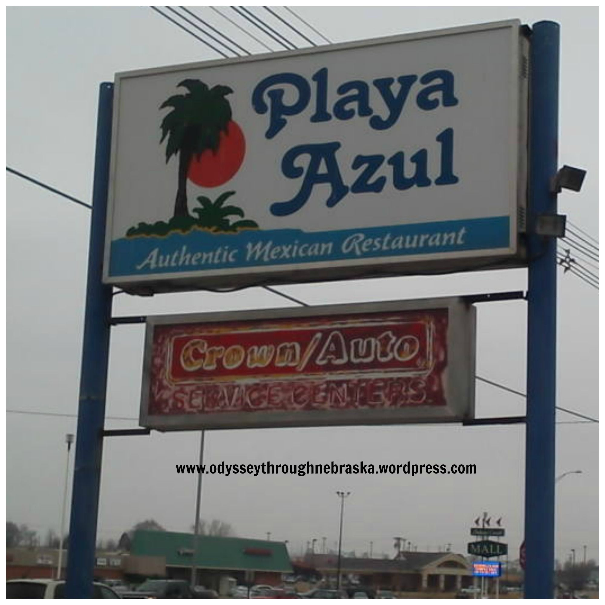 Playa Azul Enjoying Mexican Food In Beatrice Nebraska