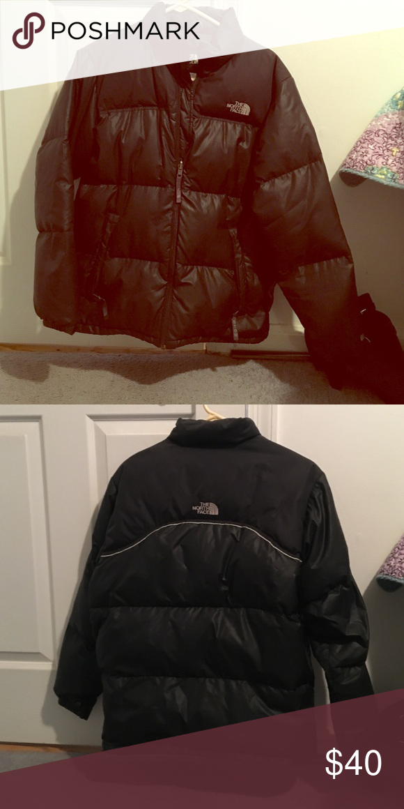 North Face goose down jacket, boys XL Gently worn down coat. North Face Jackets & Coats Puffers