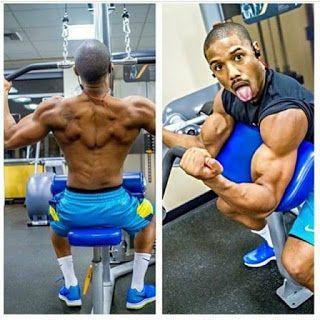 Całkiem nowy kupować zamówienie Michael B. Jordan Workout and Diet Creed | Muscle world in ...