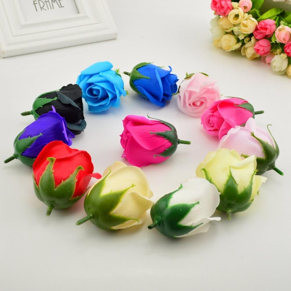 Visit to buy 5pcs 5x6cm cheap soap rose head romantic wedding visit to buy cheap soap rose head romantic wedding valentines day gift decoration family banquet clip art artificial flowers izmirmasajfo Choice Image