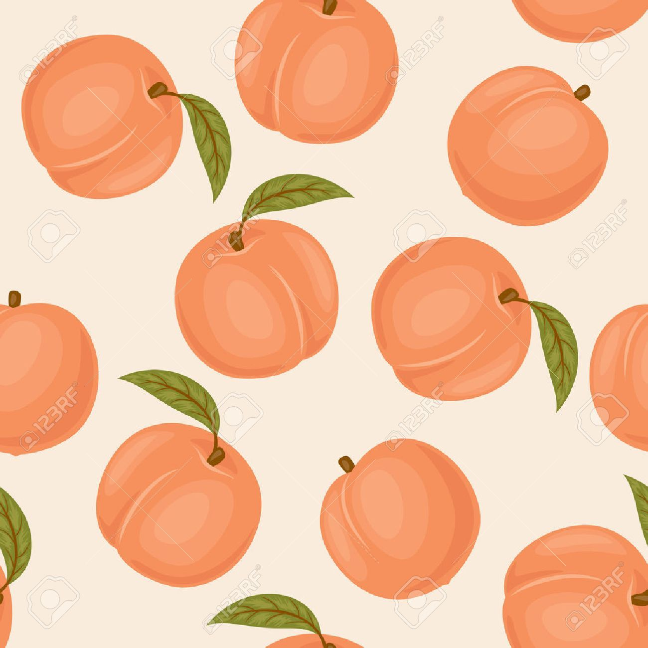 Stock Vector With Images Peach Wallpaper Peach Art Peach Background