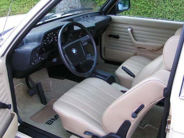 Interior Shot Of 1983 Bmw 320i Bmw Interior Bmw Classic Cars
