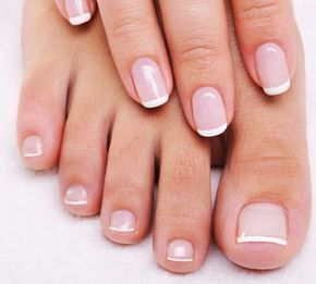 Schone French Nagel Galerie Beauty Nails Manicure Und Toe Nails