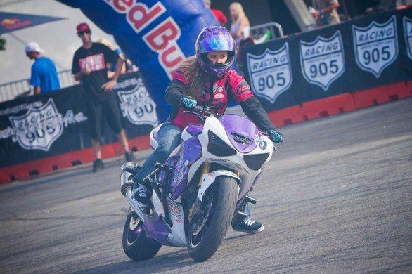 Leah Petersen - Stunt biker