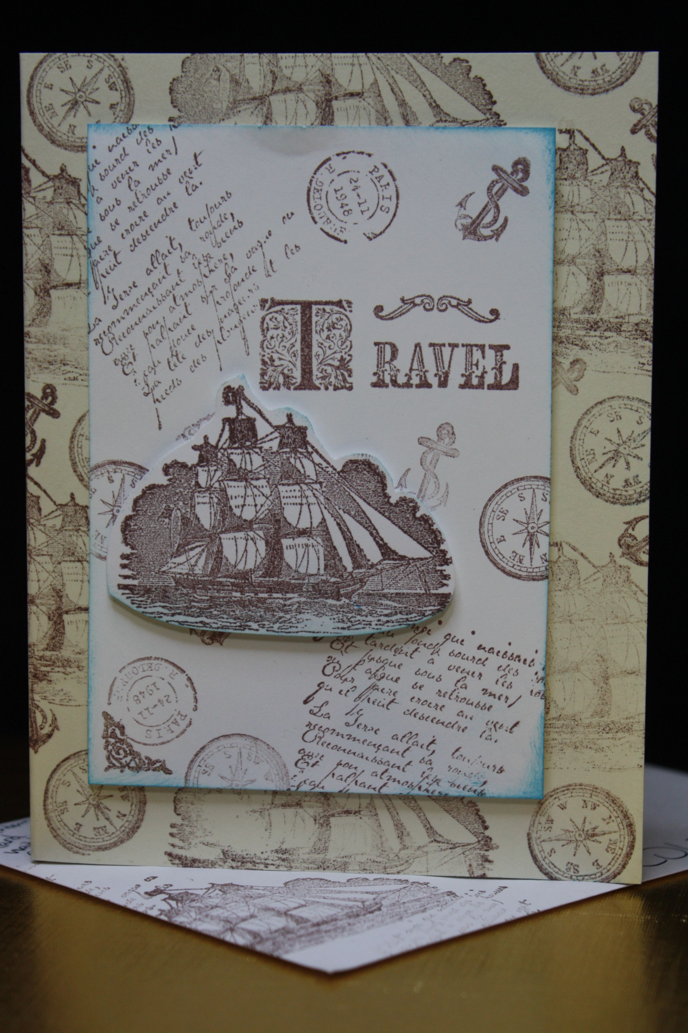 For My Brother The Tall Ship Expert Card Making Own Cards Sailing Diagram Ships Pinterest