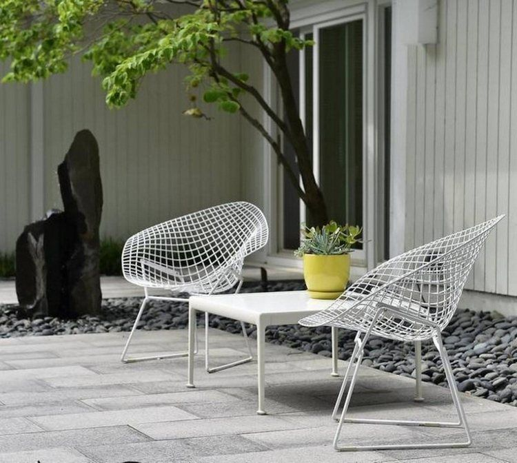 Plus de 100 idées de salon de jardin en résine, bois ou métal ...