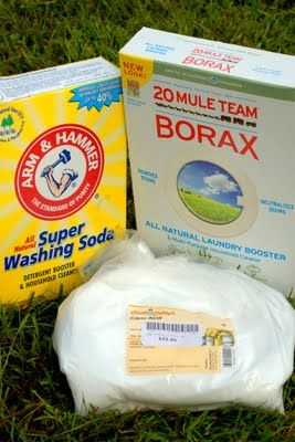 Homemade Laundry Detergent With Enzymes To Break Down Stains And