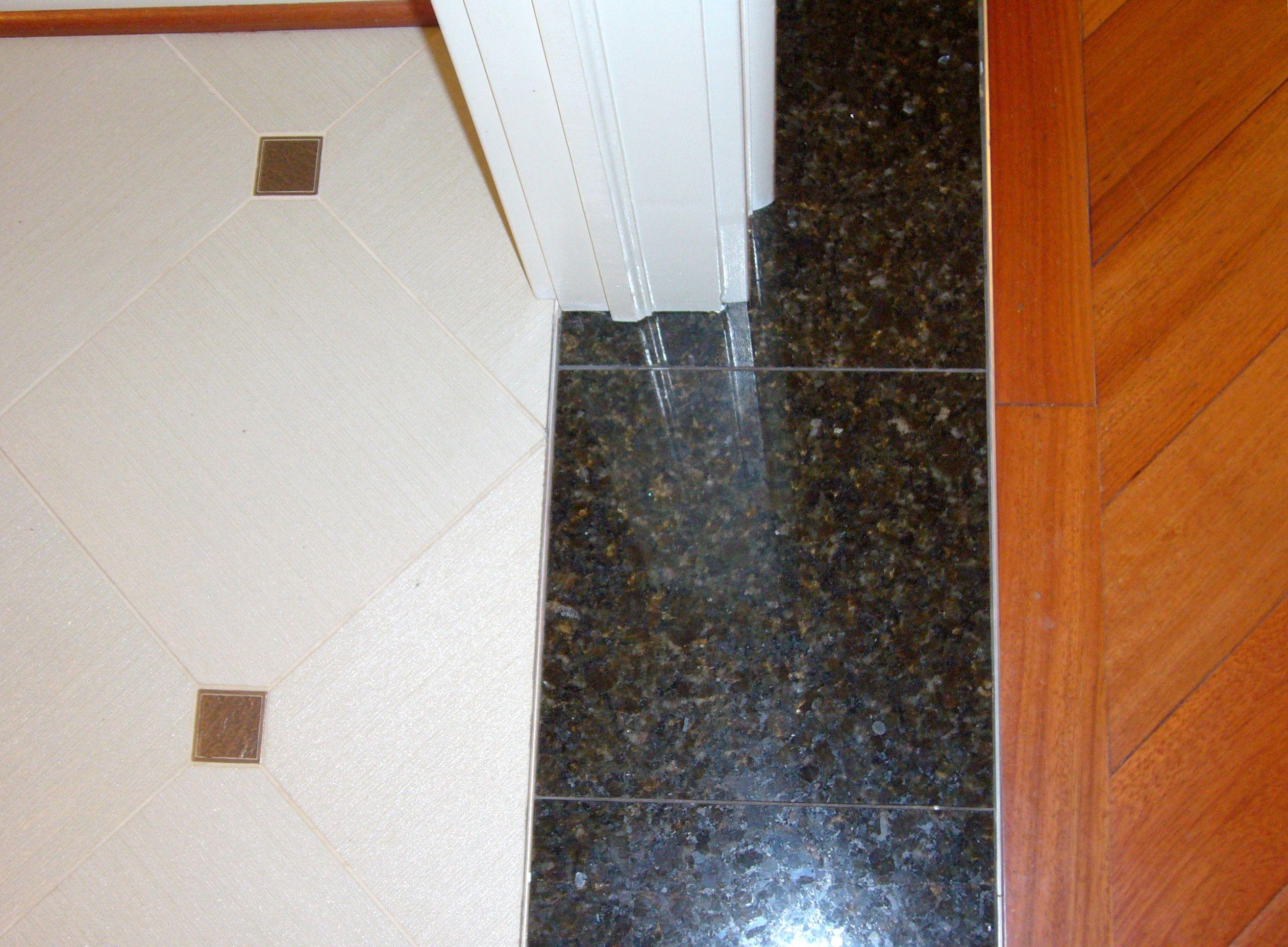 tile to wood floor transition | flooring transition ideas | tile