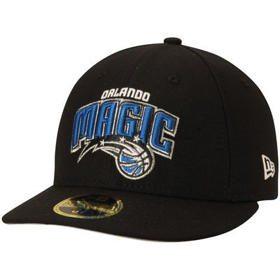 3959f1a94a8 Men s Orlando Magic New Era Black Official Team Color Low Profile 59FIFTY Fitted  Hat