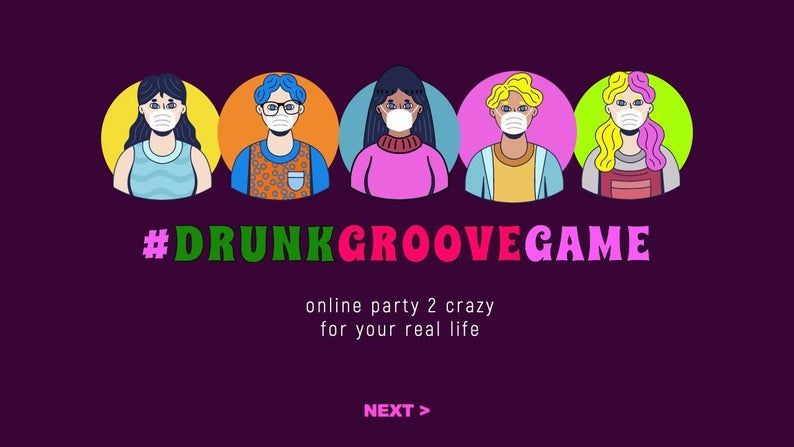 Drinking game virtual party game perfect for crazy