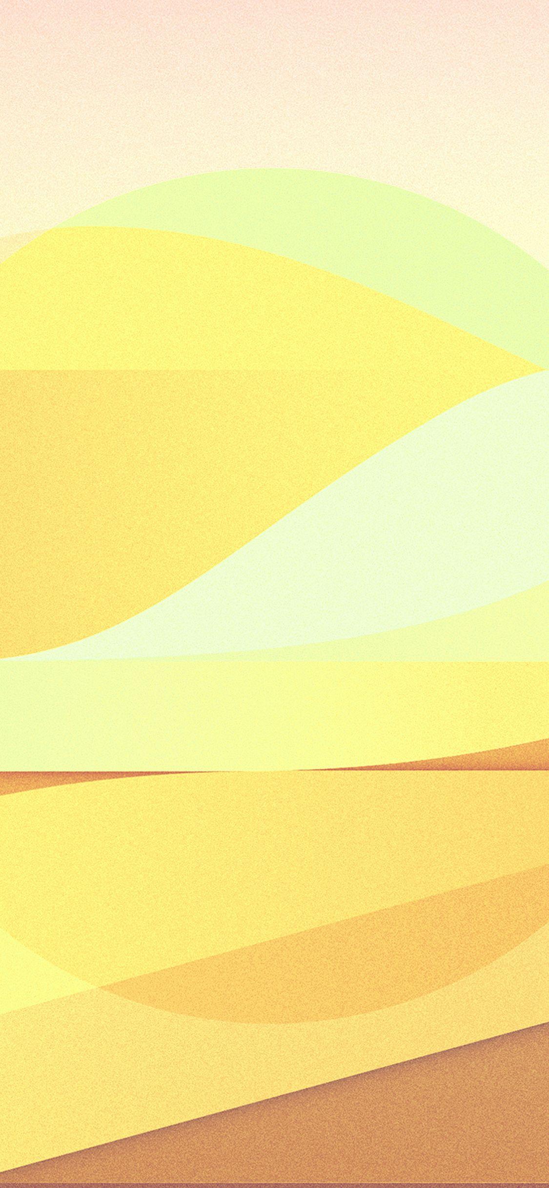 Iphonex Wallpaper Vx55 Sun Rise Pattern Background Yellow