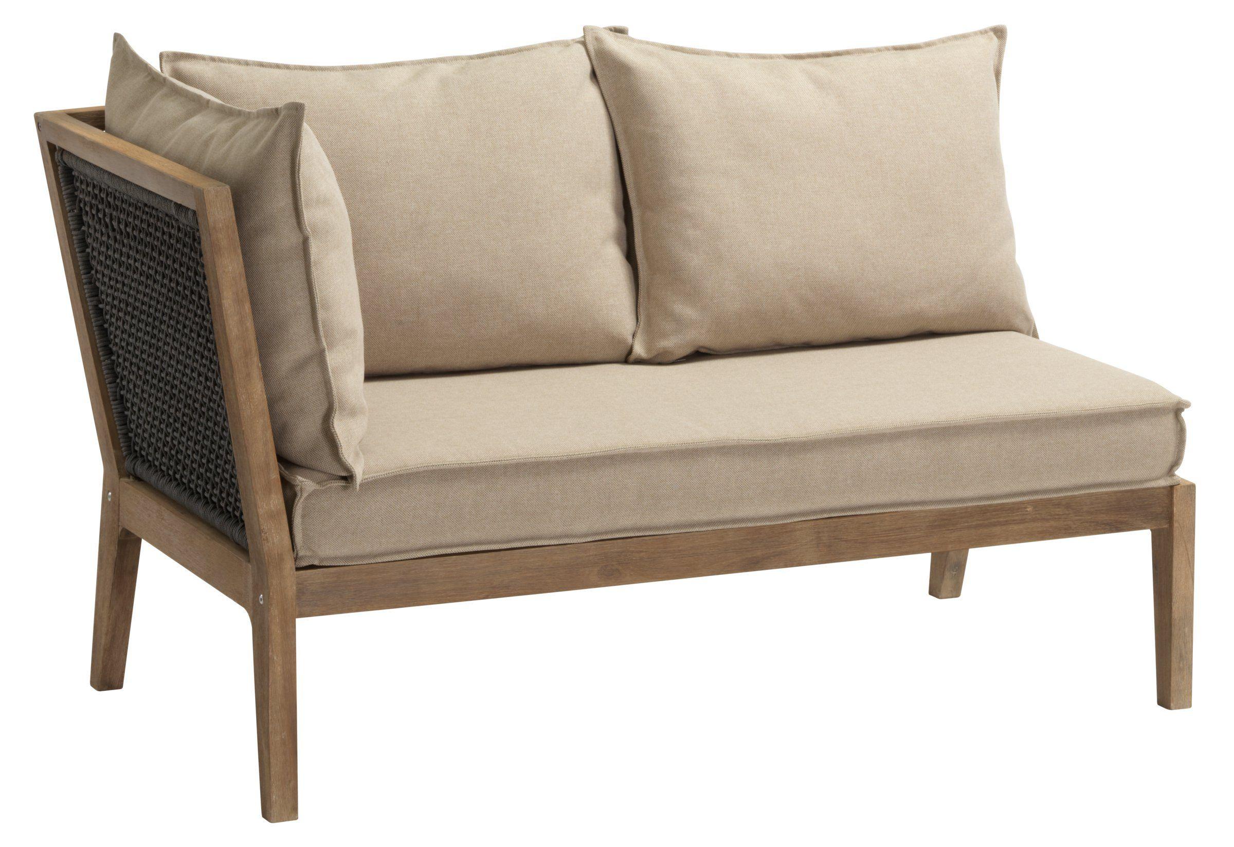 Lounge Sofa Rechts Cape Cod Inkl 4 Kissen Beige Mit Bildern