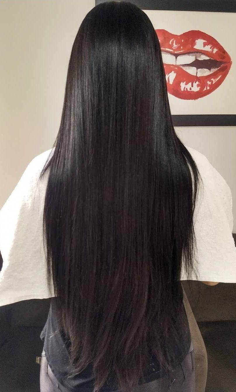 Hair Smoothening How To Style Straight Hair Straight Haircuts For Girls 20191001 Straight Hairstyles Hair Styles Long Hair Styles