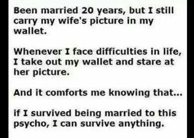 Been married