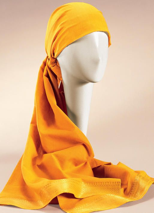 Headwrap and Caps McCalls Patterns M4116 Misses Turban