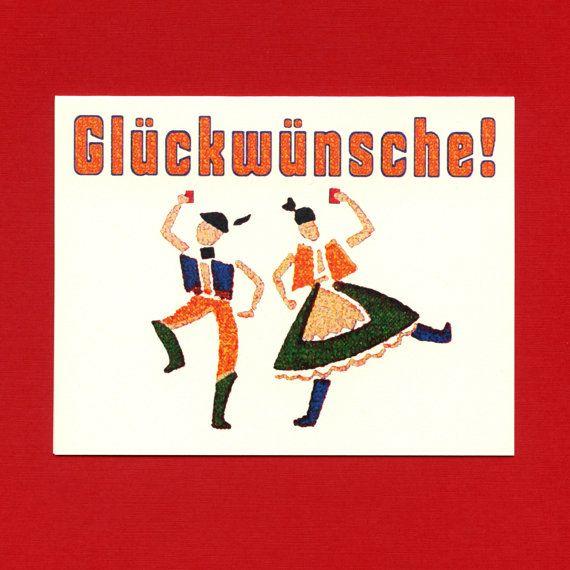 German Congratulations Gluckwunsche Congratulations Funny Congratulations Card Funny Graduation Card German Greeting Car Cards Greeting Cards Greetings