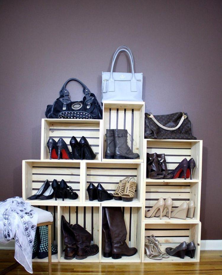 Rangement Chaussures Original En 33 Idées Super Créatives
