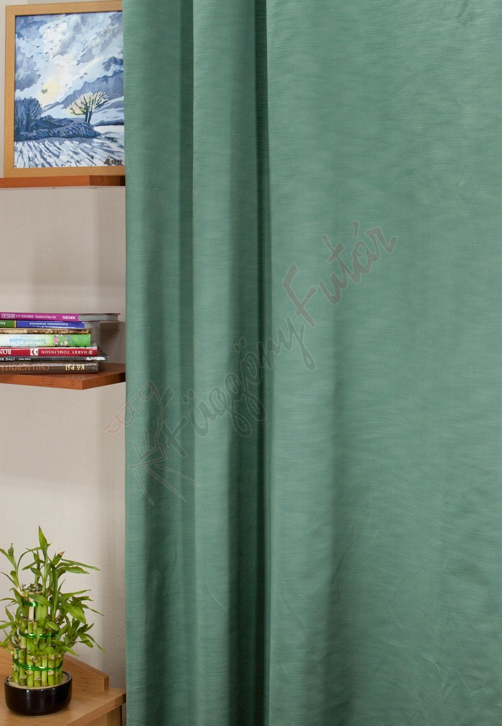 Tennessee - Mentazöld színű szatén sötétítő függöny  ad684e5c0e