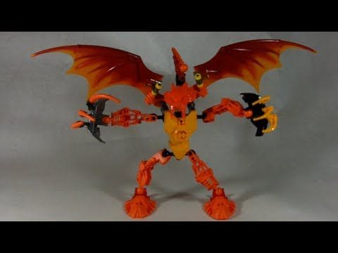 How To Build The Beast Bionicle Hero Factory Custom Lego
