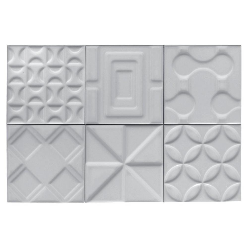 Heritage Slate Gray Decorative Ceramic