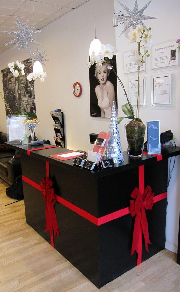 MILANO SALON & DAY SPA: Holiday Cheer  Christmas salon, Simple