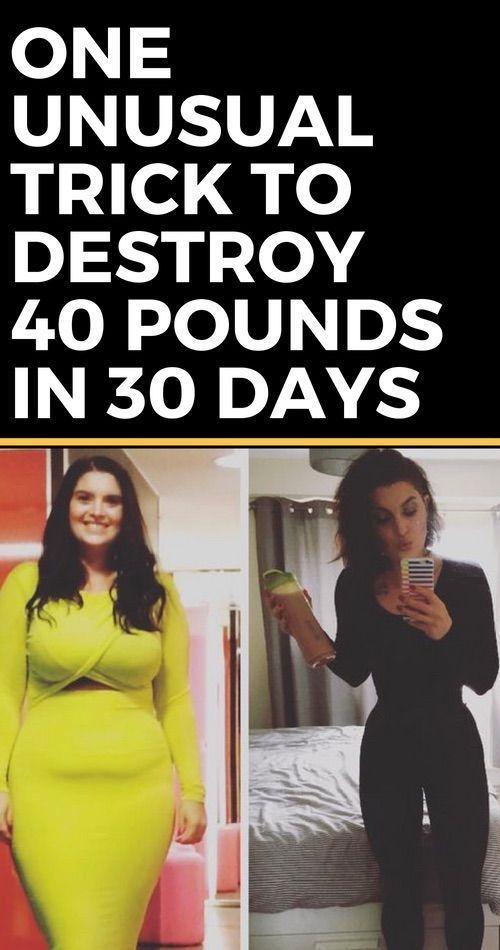 Lose 40 pounds 30 days