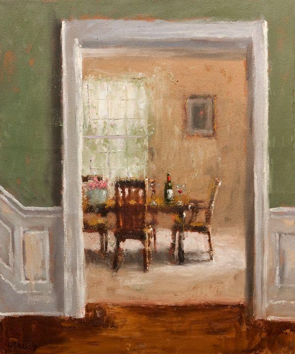 Paul Healey Canadian Born 1964 The Dining Room
