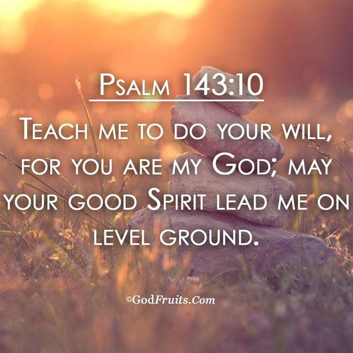 Teach me, lead me, guide me Lord. | Psalm 143 10, Guide me lord, Psalms