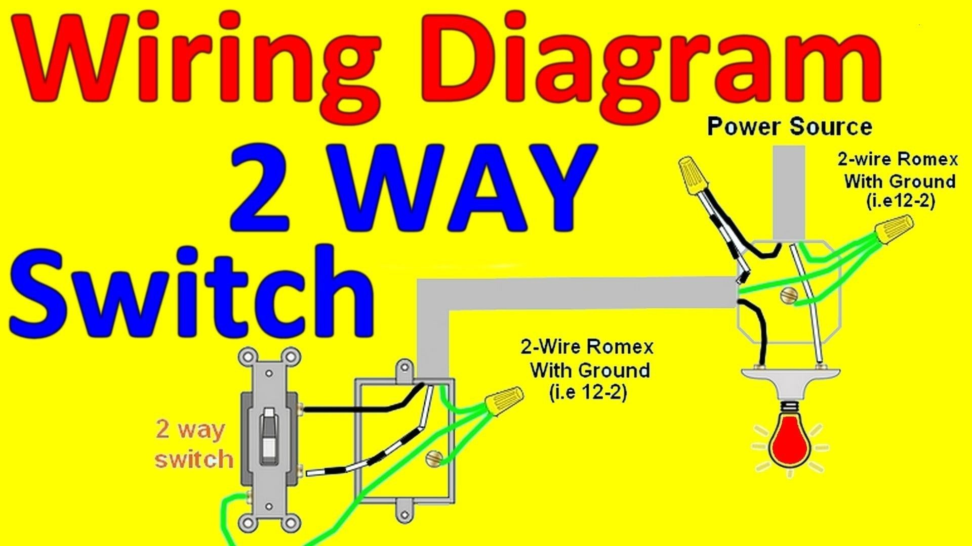 New 2 Way Switch Wiring Diagram Home Diagram Diagramsample Diagramtemplate Wiringdiagram Diagramchart Worksh Light Switch Wire Lights Light Switch Wiring