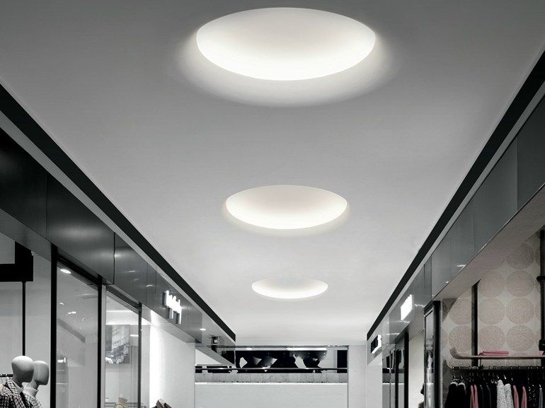 Built In Lights For Ceiling : Led built in lamp for false ceiling fylo curved by linea