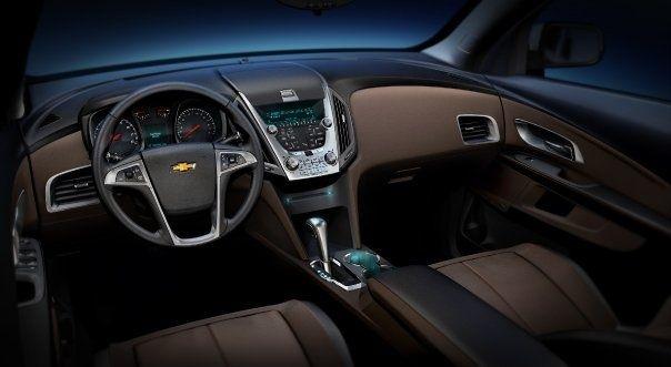 Interior Of A Chevy Equinox Chevy Equinox Chevrolet Equinox