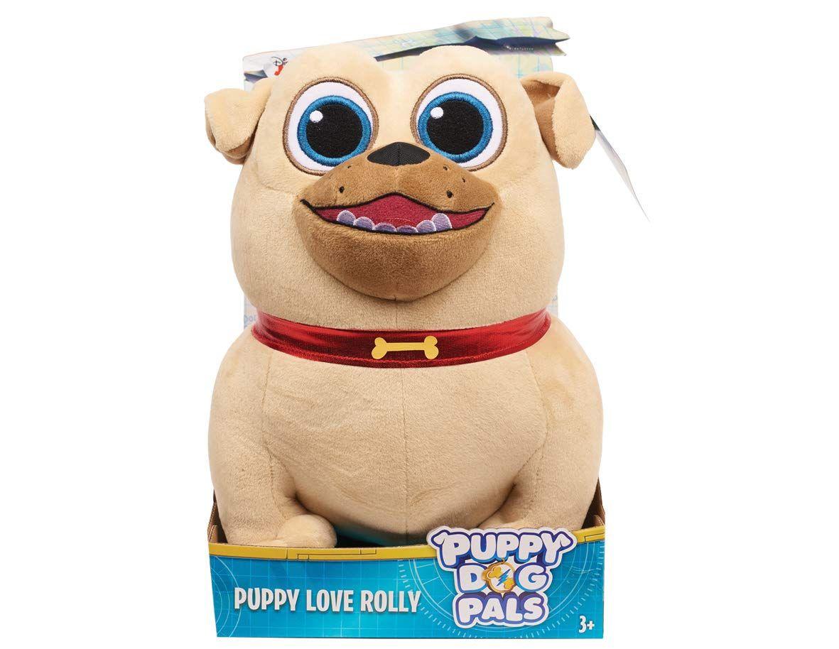 Just Play Puppy Dog Pals Medium Plush Rolly Plush Make Sure To