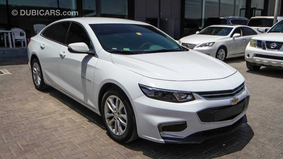 Chevrolet Malibu Lt For Sale Aed 49 000 White 2017 Chevrolet