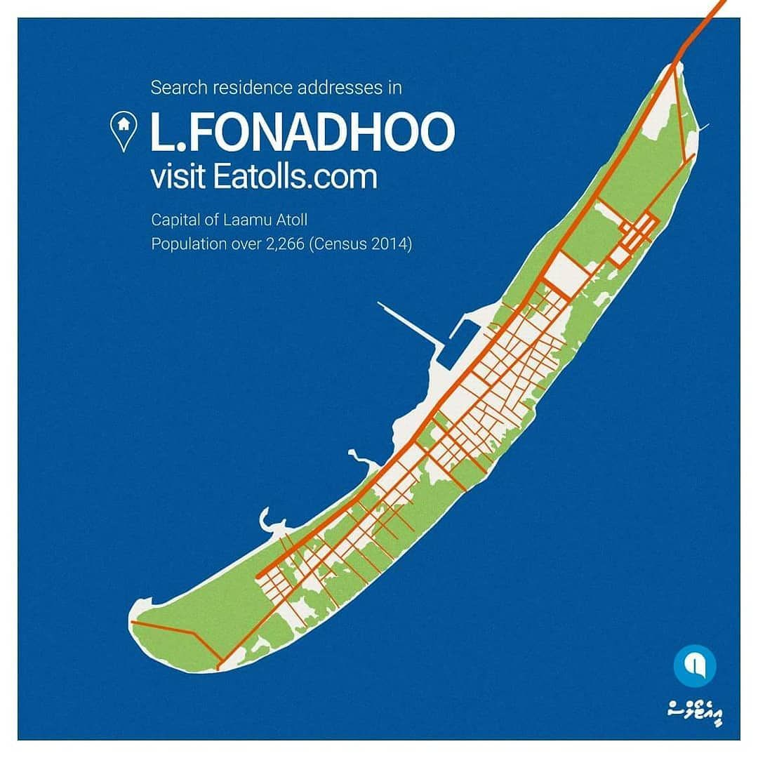 You can now search residence addresses in LFonadhoo on Eatollscom
