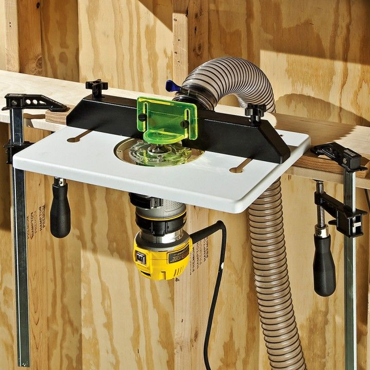 Dewalt dwp611pk compact router with trim router table and dust dewalt dwp611pk compact router with trim router table and dust port trim router router table and woodworking greentooth Image collections