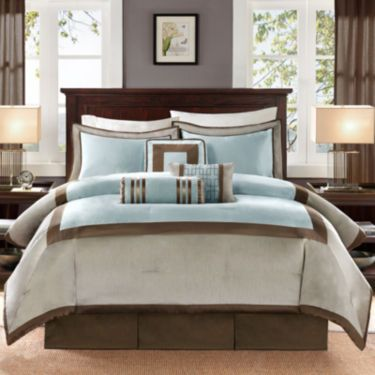 Madison Park Abigai 7-pc. Comforter Set - JCPenney | Blue Bath ...