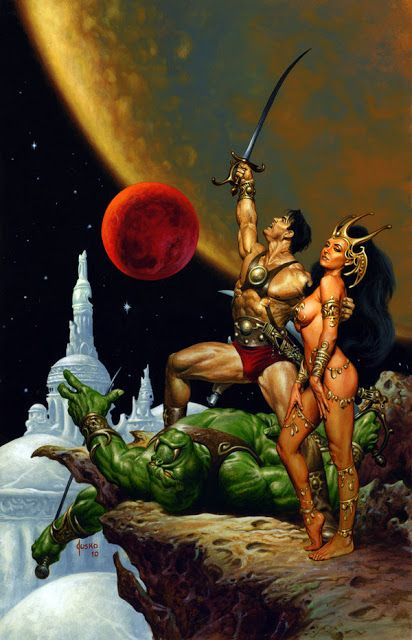 The Geeky Nerfherder: The Art Of Barsoom: Dynamite Entertainment Comic Covers